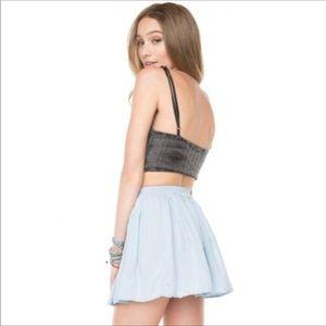 Brandy Melville | Celeste Aqua Skirt